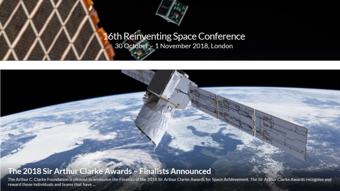 16th Reinventing Space Conference