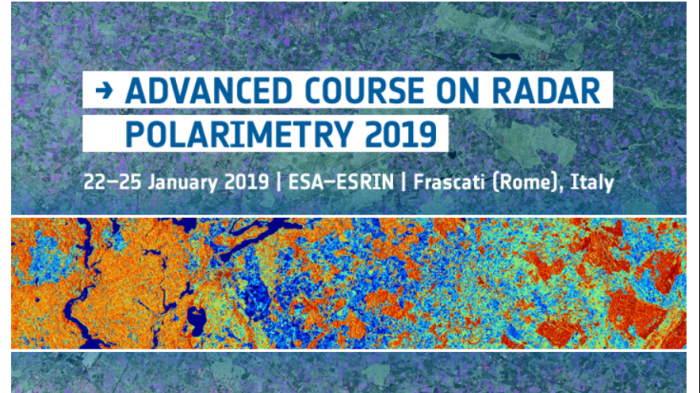 5th Advanced Course on Radar Polarimetry 2019